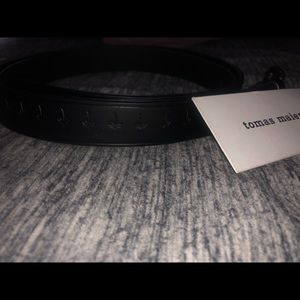 *BRAND NEW* Tomas Maier Leather Belt